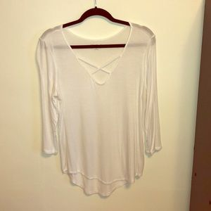 Mudd White Tunic